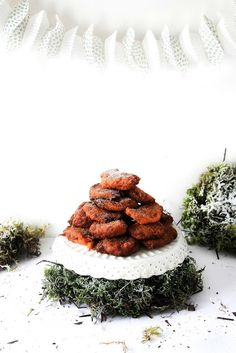Pratos e Travessas: Sweet Pumpkin Fritters # White Christmas | Food, photography and stories