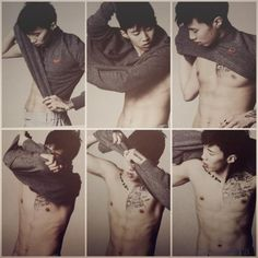 jay park||| and the shirt slowly came off