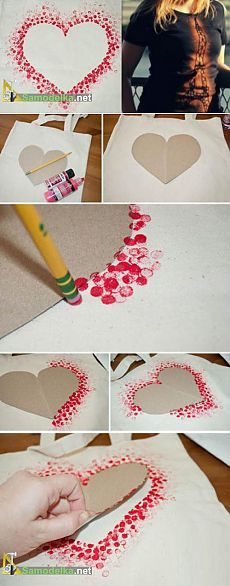 Рисунок на ткани своими руками / Красота ! (украшения, декупаж...) / Самоделка.net - Сделай сам своими руками | Самоделки. Полезные советы и рекомендации домашнему умельцу