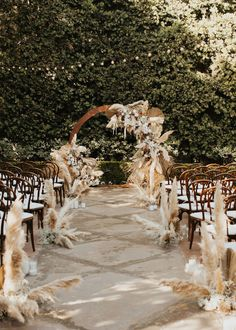 Modern boho glam wedding at Franciscan Gardens with a neutral color palette - 100 Layer Cake Outdoor Wedding Decorations, Wedding Themes, Wedding Colors, Decor Wedding, Neutral Color Wedding, Outdoor Night Wedding, Backdrop Wedding, Wedding Ideas, Wedding Songs