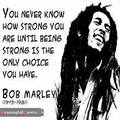 Bob marley quote.