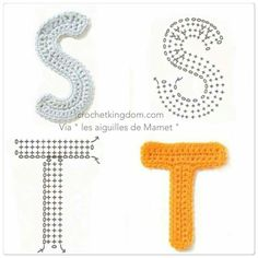 letters S & T
