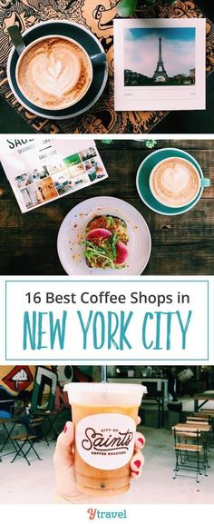 Best coffee shops in NYC. Want to drink coffee with the locals in New York City? Skip the chains and check out these 14 coffee shops in NYC that the locals love! Fuel up for all the activities and attraction downtown with a quick cup at locals' favorite restaurants, cafes and coffee shops.  You'll love this last for planning stops between sight seeing! #NYC #NewYorkCity #coffeeshops #NYCtravel