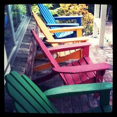 Colorful Chairs! #Photo