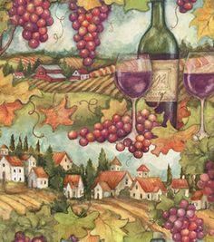 Autumn Inspirations Susan Winget Grape Harvest 3 Fabric: fabric: Shop | Joann.com