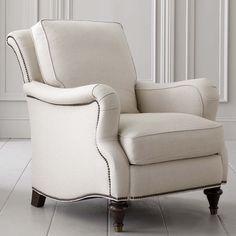 33w X 40d X 39h X Accent Chair By Bassett Furniture, Nailhead Trim Optional.