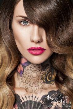 Campagne Fardel... Soon MUA : Fanny Maurer Hair : Alexandra Tshiteya @Aurélien Gaucherand Agency