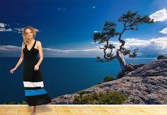 Fototapete Sea and Tree - Wasseransicht mit Baum | wall-art.de