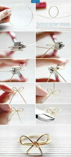Bow ring | on Fashionfreax you can discover new designers, brands & trends.