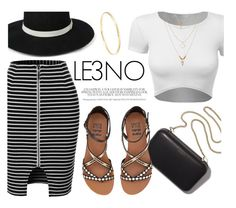LE3NO.com by monmondefou on Polyvore featuring polyvore, fashion, style, LE3NO, Billabong, Clare V., clothing and le3no