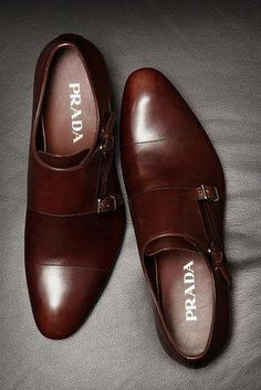 """Shoes like this have """"monk straps."""" It's important to know the lingo when you're out shopping for interview looks. 