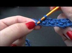 Passo a passo Ponto Arroz em Crochê feito pela Professora Simone visitem a professora Simone http://lifebabysapatinhos.blogspot.com/)