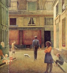 The Passage du Commerce-Saint-André, 1952-54 - Balthus