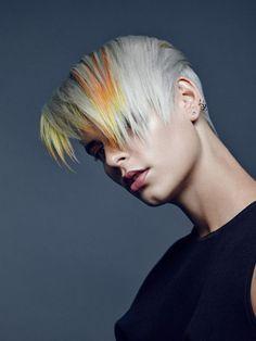 Hair: Mark Leeson / Styling: Ingo Nahrwold / Make up: Stephanie Kunz / Photo: Markus Jans