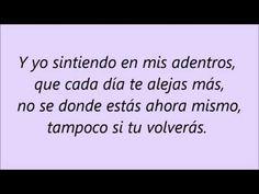 """María Artés """"LaMorena"""" - Amigo Mío (LETRA) - YouTube"""