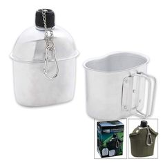 Maxam SPCANTN Alum Canteen with Cover Cup -- You can find more details by visiting the image link.
