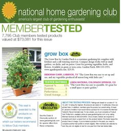 National Home Gardening Assoc.
