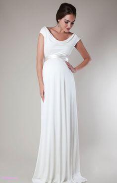 Best Maternity Wedding Dress For Pregnant Bride Ntvstyle