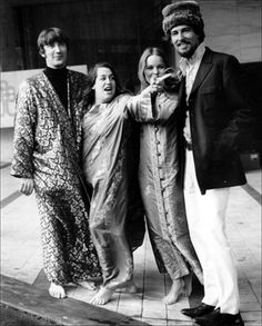 The Mamas and Papas at the Monterey Pop Festival in 1967 - photo by Jim Marshall Monterey Pop Festival, 60s Music, Music Icon, Rock Roll, Kinds Of Music, Music Is Life, Jim Marshall, Michelle Phillips, Thing 1
