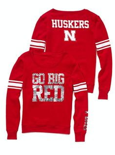 $29.99 University of Nebraska Bling Crewneck