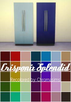 http://chromasims.tumblr.com/post/129291777757/crisponix-splendid-fridge