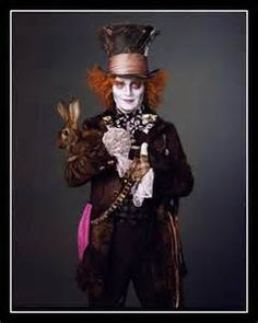 Johnny Depp is the Mad Hatter.  Yes indeed!