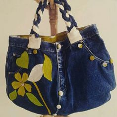 Bag made with jeans..customization