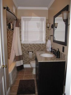 BTW....a few people wanted to know where towels and shower curtain came from....they are both DKNY from bed, bath, and beyond :), we finished our new bathroom with a very low budget and hope to get a great return when we decide to move again , Bathrooms Design