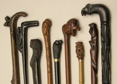 wood carving canes | Wooden Carved Walking Sticks | Wooden Carved - All things Wood ...