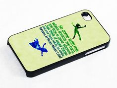 Peter Pan Disney Quotes iPhone 5 Case. Pretty sure I need this immediately