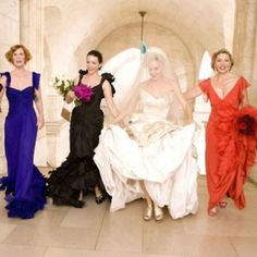 The wedding that made me want unmatching bridesmaids dresses!