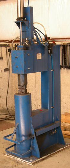 100 lb air hammer Morris Hallowell