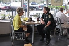 Thank you to everyone who came out and participated in Coffee with a Cop this morning! We enjoyed meeting all of you. Here are some pictures from both the Lake Mary and Winter Springs McDonald's locations. Our deputies enjoyed meeting members of the community!