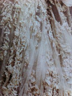 tiny ruffles and lace