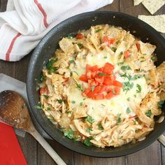 Chicken Tortilla Casserole (for two)