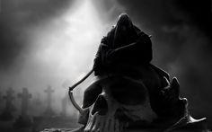 Grim Reaper Angel of Death Dark Reaper, Don't Fear The Reaper, Tim Holtz, Grim Reaper Images, Art Tumblr, Purple Wallpaper, Hd Wallpaper, Cross Wallpaper, Watch Wallpaper
