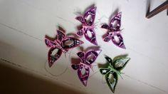 Butterfly Birthday masks.