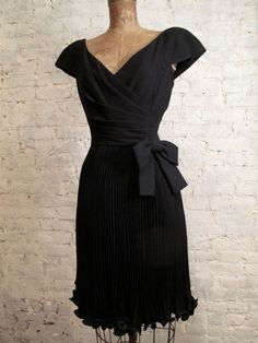 80s Scaasi Cocktail Dress by ChelseaGirlNYC on Etsy, $95.00