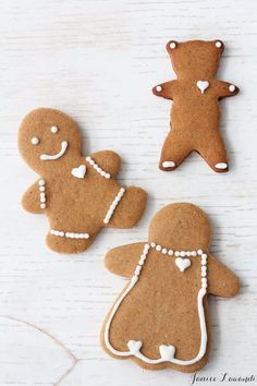 The best gingerbread cookie cutout recipe that keeps its shape and is perfect for decorating