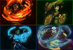 Korra team by ~Faezza on deviantART