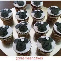 Minniemouse cupcake