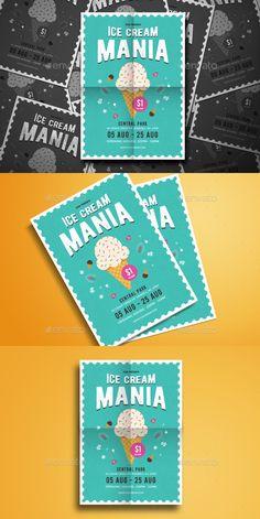 ice cream social flyer templates flyer templates pinterest