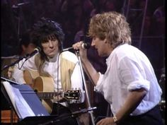 "Rod Stewart - Unplugged and Seated (Full Concert) 1993 HD - YouTube 33:24 ""Have I told You lately that I Love You"""