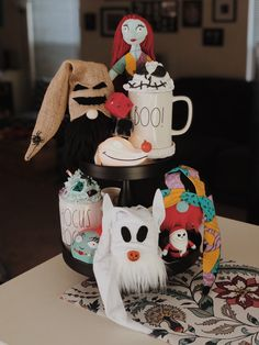 Halloween Inspo, Halloween Mug, Disney Halloween, Happy Halloween, Disney Day, Disney Home, Halloween Decorations, Christmas Decorations, Holiday Decor
