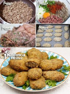 Terrific Photo Meat snacks for party Style, Fırında Kadınbudu Köfte Tarifi Allow me to share 30 healthy snacks that are easy t. Healthy Eating Tips, Healthy Snacks, Healthy Nutrition, Meatball Recipes, Meat Recipes, Musaka, Turkish Recipes, Ethnic Recipes, Good Food