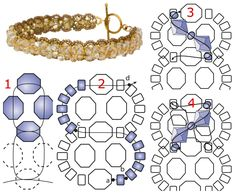 Free Beaded Bauble Bracelet Pattern from InmCrystal.com featured in recent Bead-Patterns.com Newsletter!