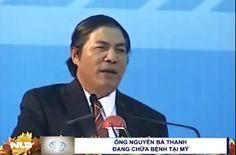 Tin học cho mọi người...: Ông Nguyễn Bá Thanh đang chữa bệnh tại Mỹ