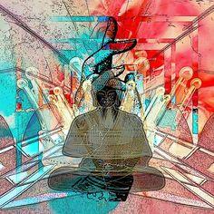 """THE SERENE LORD OF THE KINGDOM """"Die pralle Lebenskraft, die auf Entfaltung drängt, die Kreativität, die uns treibt, schöpferisch zu sein… Aber auch der Wunsch  König zu sein und damit mächtiger als jeder andere. Ja, das ist seine Majestät, das Ego!"""" Wille und Macht sind keine Eigenschaften, die zur Heiterkeit führen. Erst wenn man sich nicht mehr durchsetzen muss… finden wir unser Gebiet, wo wir unsere Signatur vermitteln und als heitere Könige bejubelt werden.  [Zitat aus """"Symbolon""""…"""