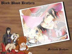 black blood brothers jiro and mimiko | Black Blood Brothers Black Blood Brothers