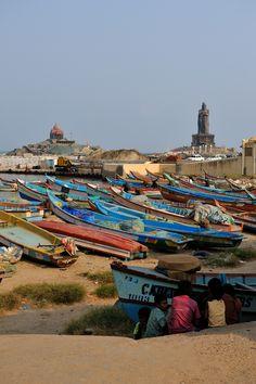 Kanyakumari, Tamil Nadu. The southern tip of India.